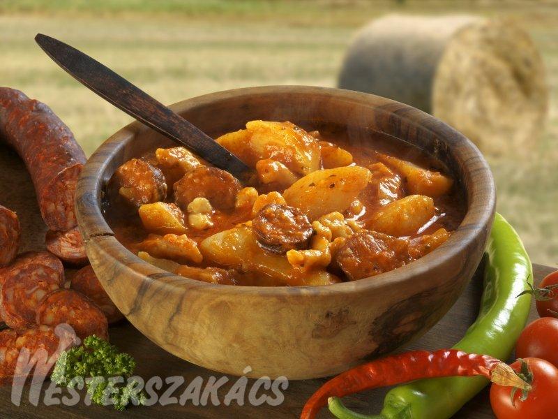 Paprikás krumpli recept