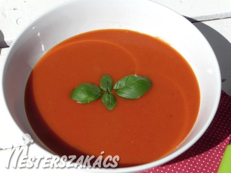 Paradicsom-krémleves recept