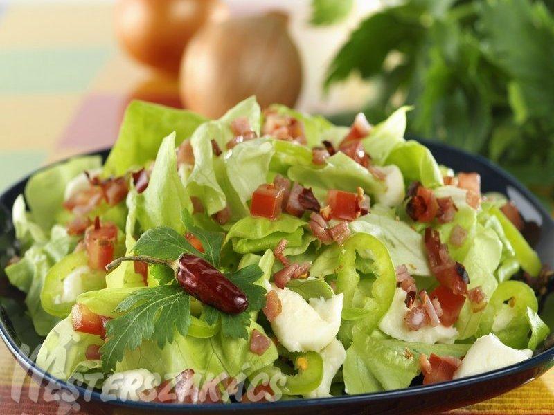 Pásztor saláta recept