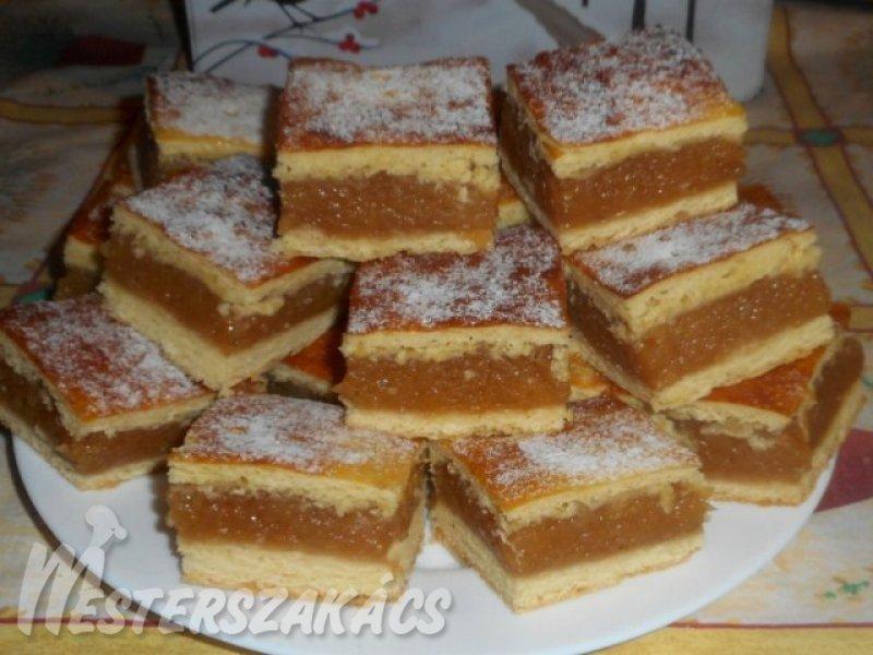 Pihe-puha almás pite recept