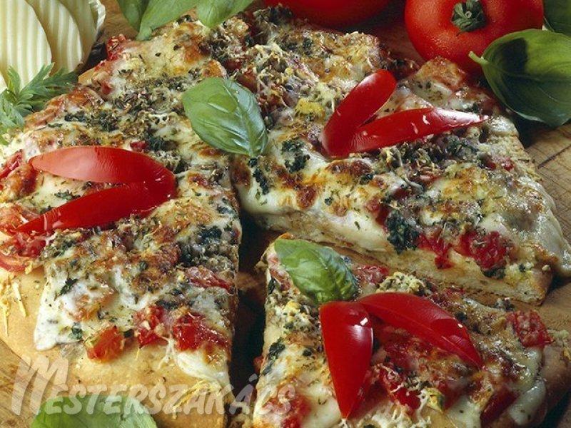 Pizza alaprecept recept