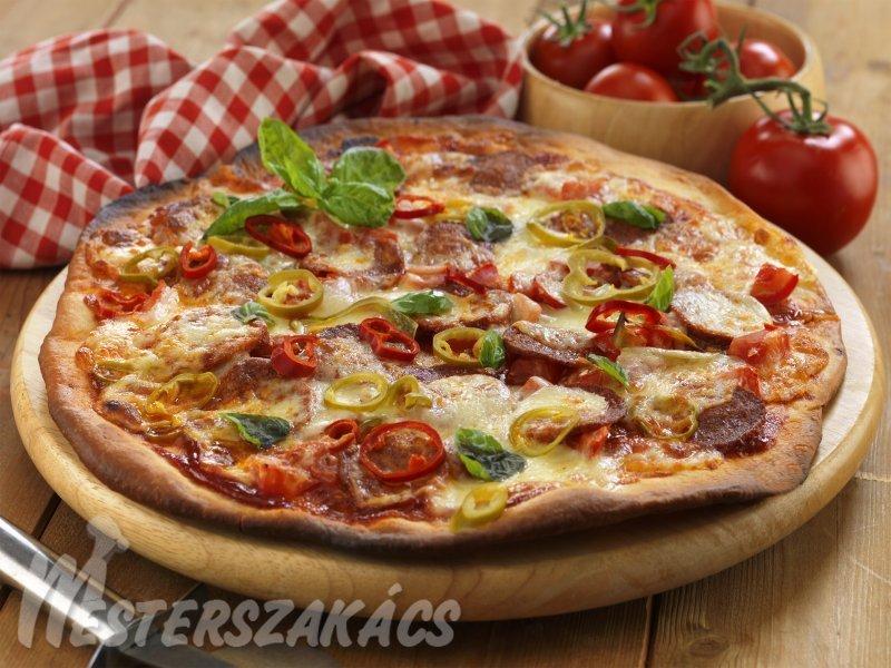 Pizzaváltozatok recept
