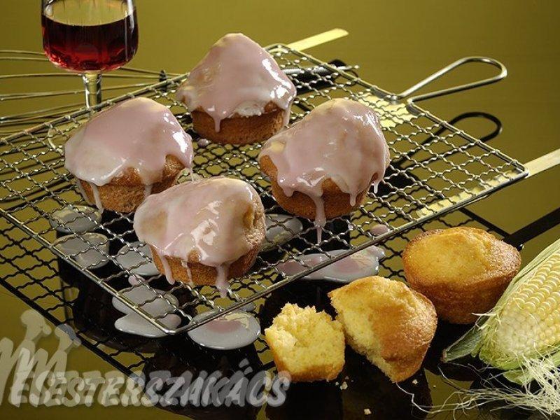 Polentás és puncsos muffin recept