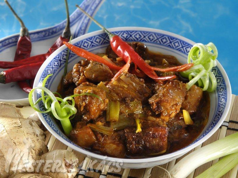 Ponty ázsiai módra recept