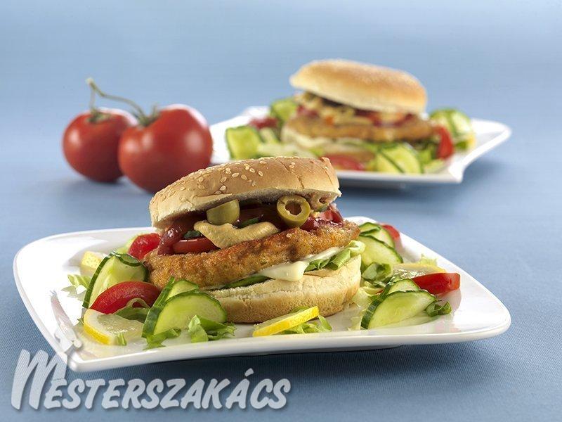 Pontyburger recept
