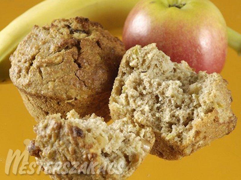 Reformos gyümölcsös muffin recept