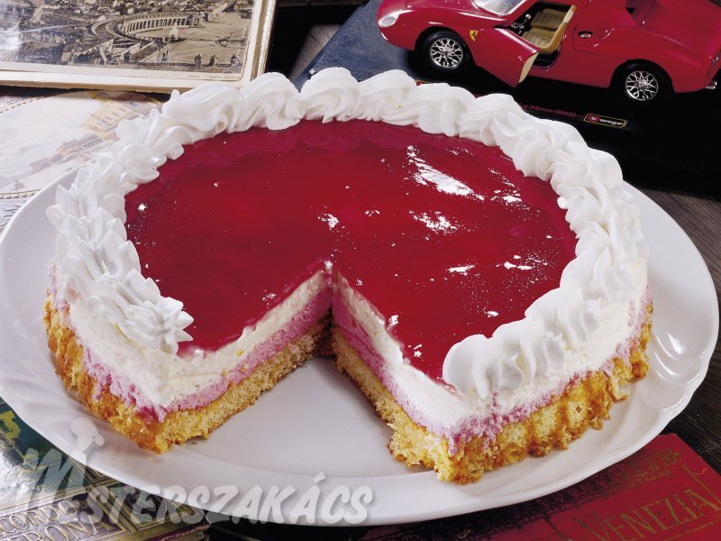 Réteges mascarpone torta recept