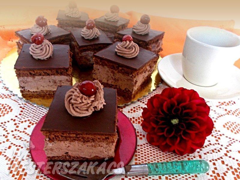 Rigó Jancsi sütemény recept