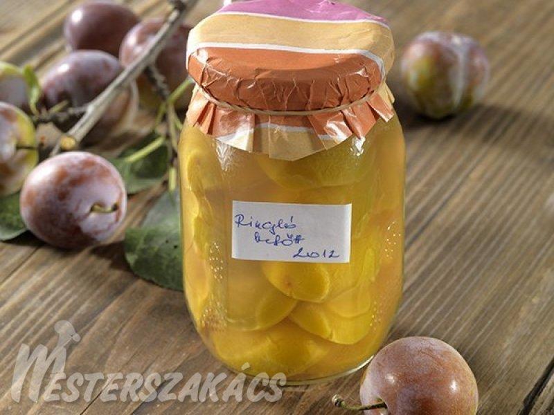 Ringlóbefőtt  hagyományosan és cukorbetegeknek recept