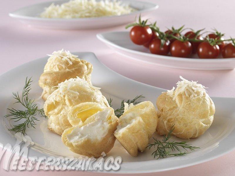 Sajtkrémes fánk recept