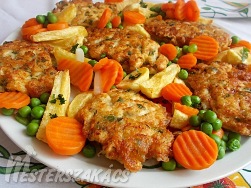 Sajtos csirkemell  recept