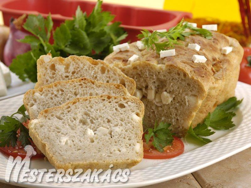 Sajtos kenyér recept