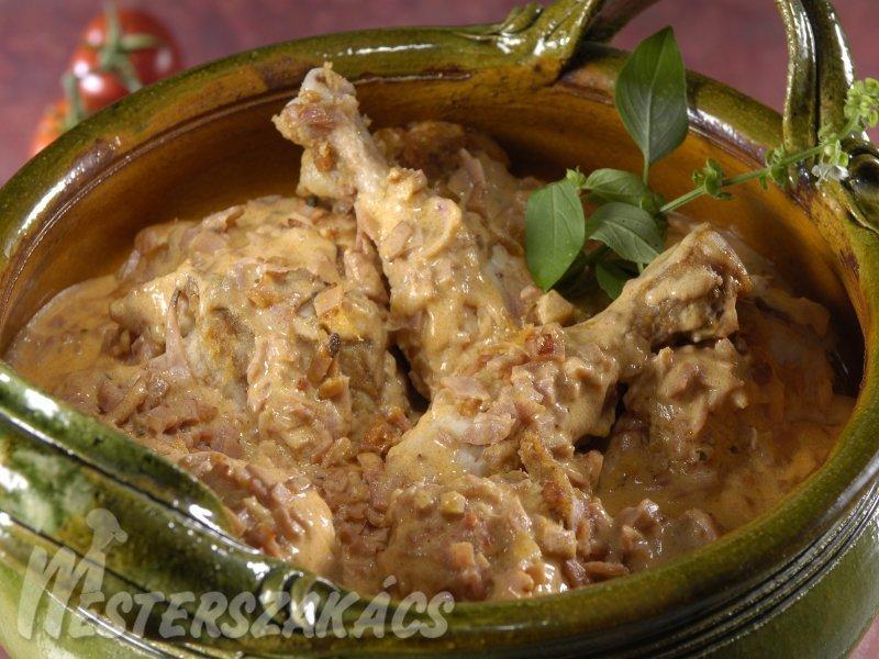 Sonkás csirke recept