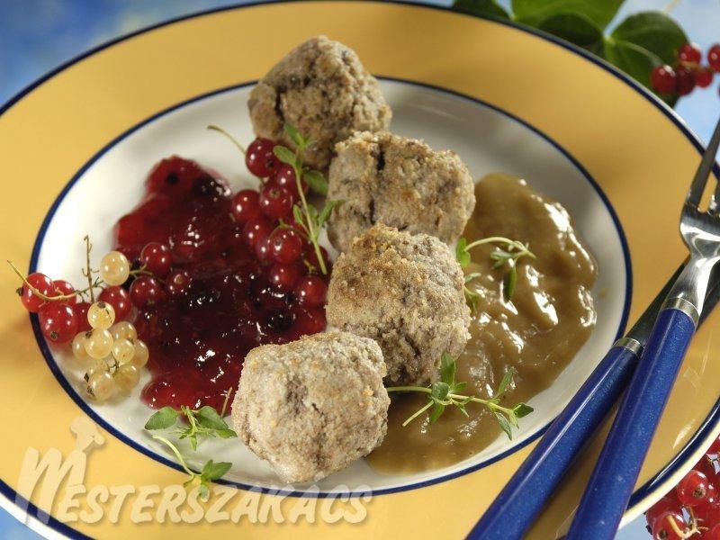 Svéd húsgombócok recept