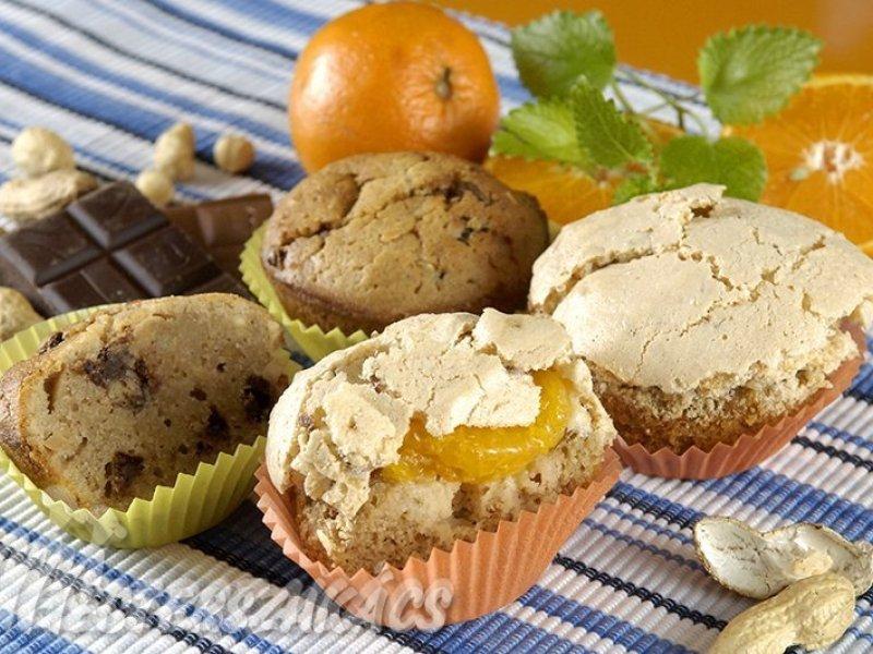 Sztracsatella muffin recept