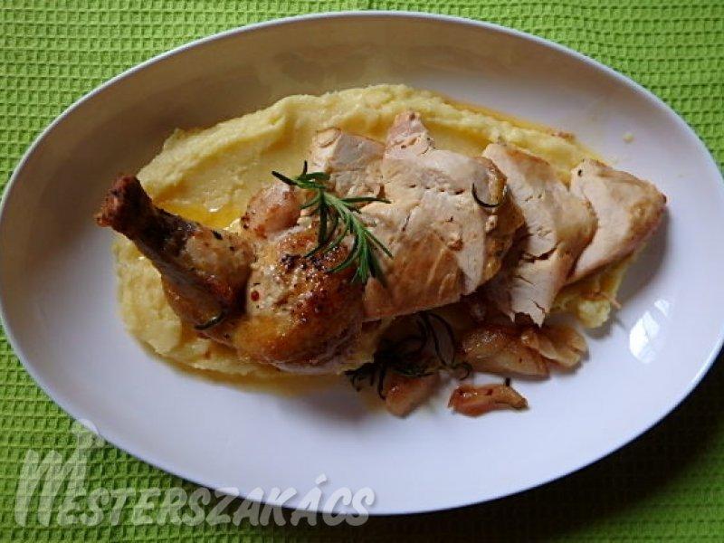 Szuprém csirkemell burgonyapürével recept