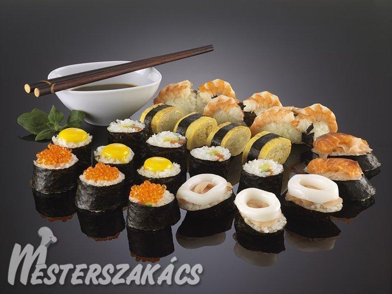 Szusi (sushi) alaprecept recept