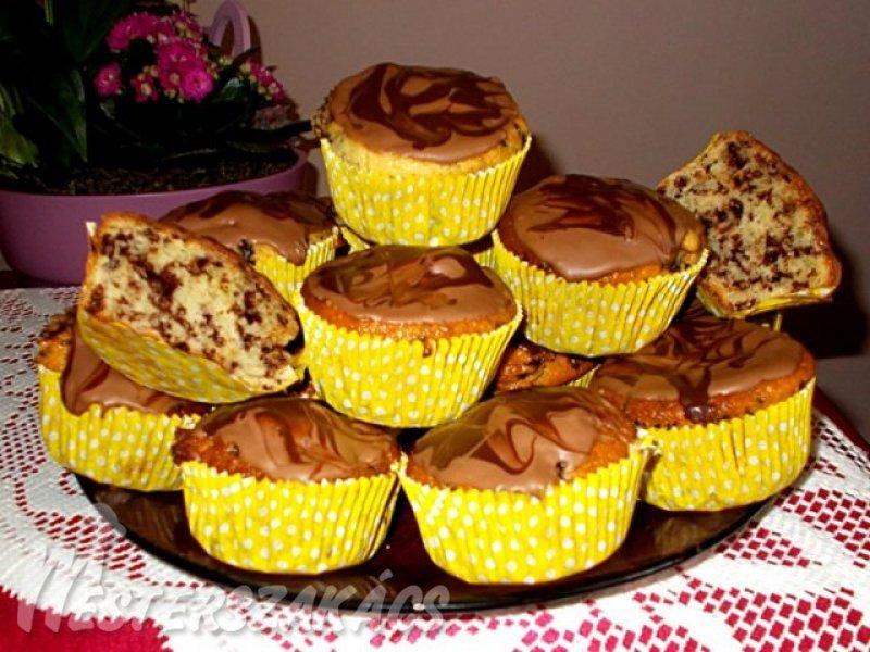 Tejfölös csodabogár muffin recept