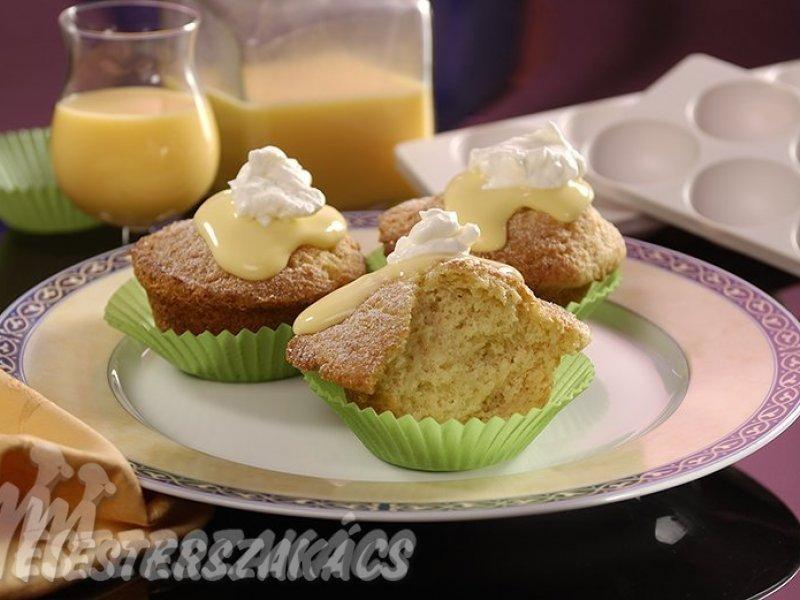 Tojáslikőrös muffin recept