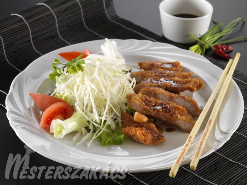 Tonkacho  (rántott sertéskaraj japánosan) recept