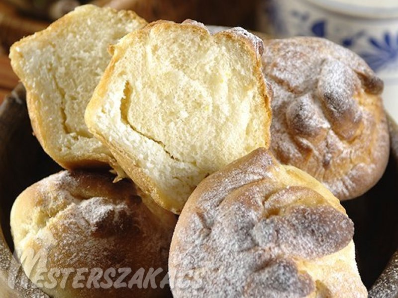 Túrós batyu muffinformában sütve recept