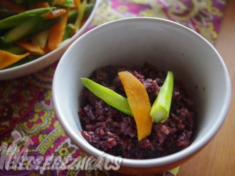 Vadrizs tőzegáfonyával és mandulával recept