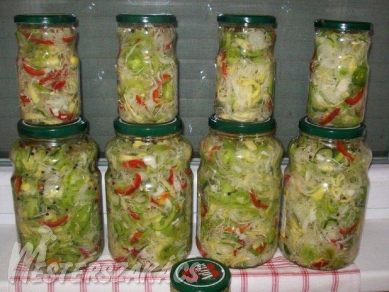 Vegyes savanyúság télire recept