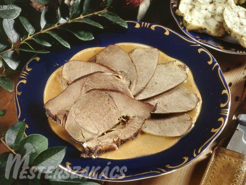 Vörösboros szarvascomb recept