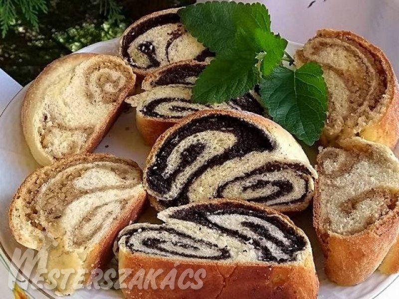 Zalai fodros, mákos-diós rétes recept