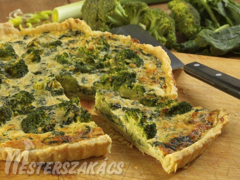 Zöldséges torta recept